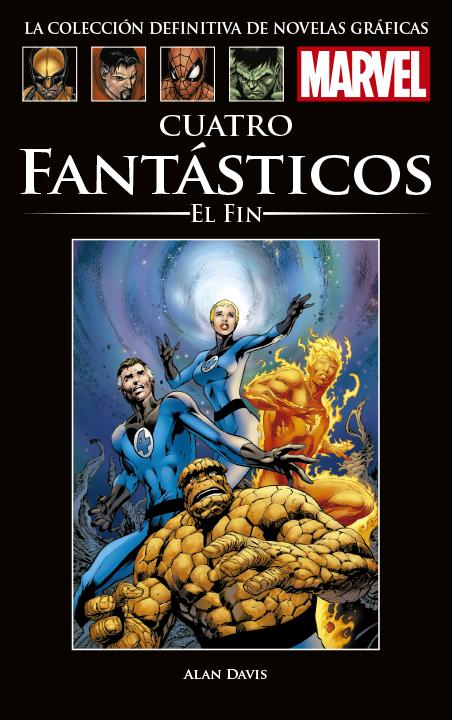 La Colección Definitiva de Novelas Gráficas de Marvel – Cuatro Fantásticos: El Fin