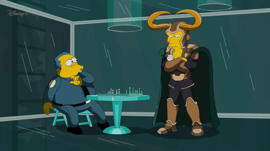 Loki ahora llegara a Springfield para unirse a Los Simpson
