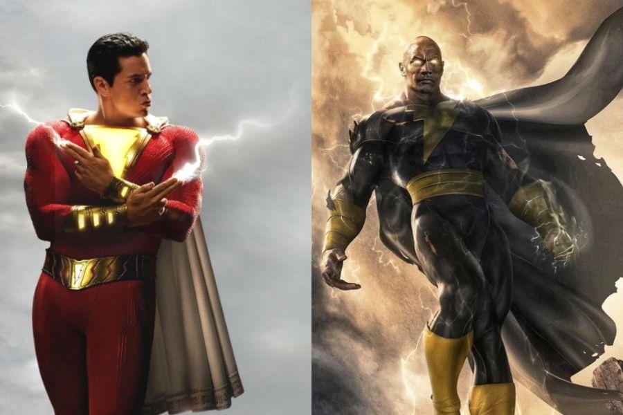 Shazam y Hawkman unen fuerzas... en una fotografía