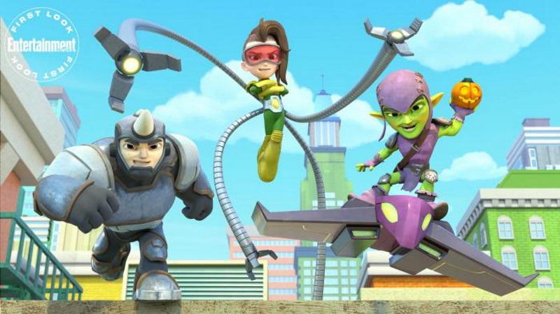 Primeras imágenes de la nueva versión de Spidey and his Amazing Friends