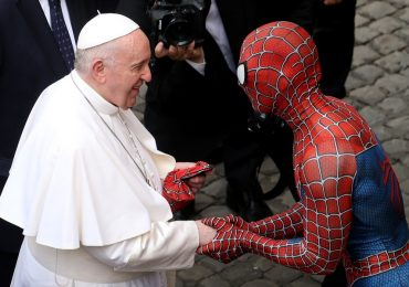 ¿Quién es el Spider-Man que visitó al Papa Francisco?