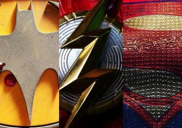 Supergirl y Batman en las filmaciones de The Flash