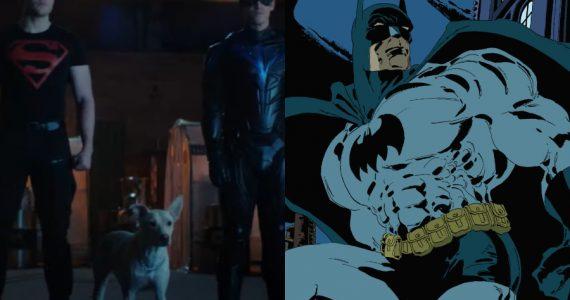 La temporada 3 de Titans adaptará dos historias esenciales de Batman
