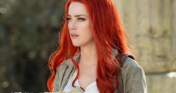 Aquaman 2: Amber Heard se prepara con acrobacias para su regreso como Mera