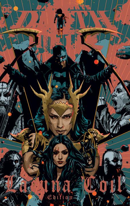 Dark Nights: Death Metal #3 – Edición de Bandas: Lacuna Coil