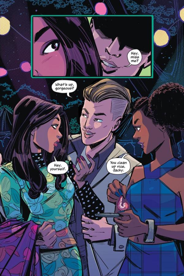Gotham High: Gotham's Teen Heartbreak and Drama