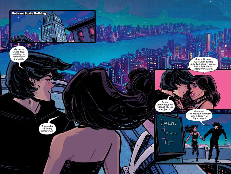Gotham High: angustia y drama adolescente en Gotham