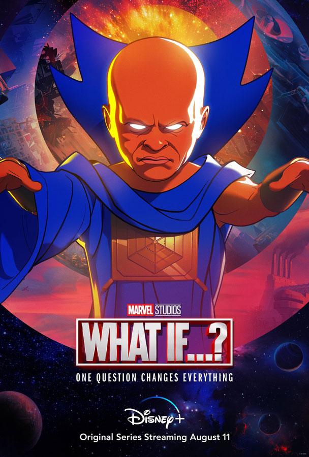 Jeffrey Wright habla sobre interpretar a The Watcher en What If...?