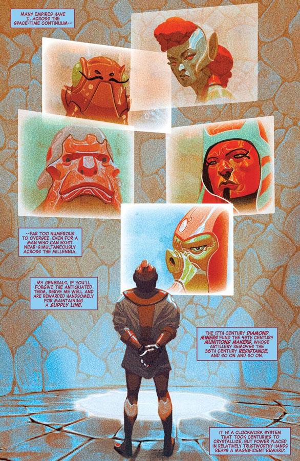 Las muchas caras de Kang, historia del Conquistador y sus variantes