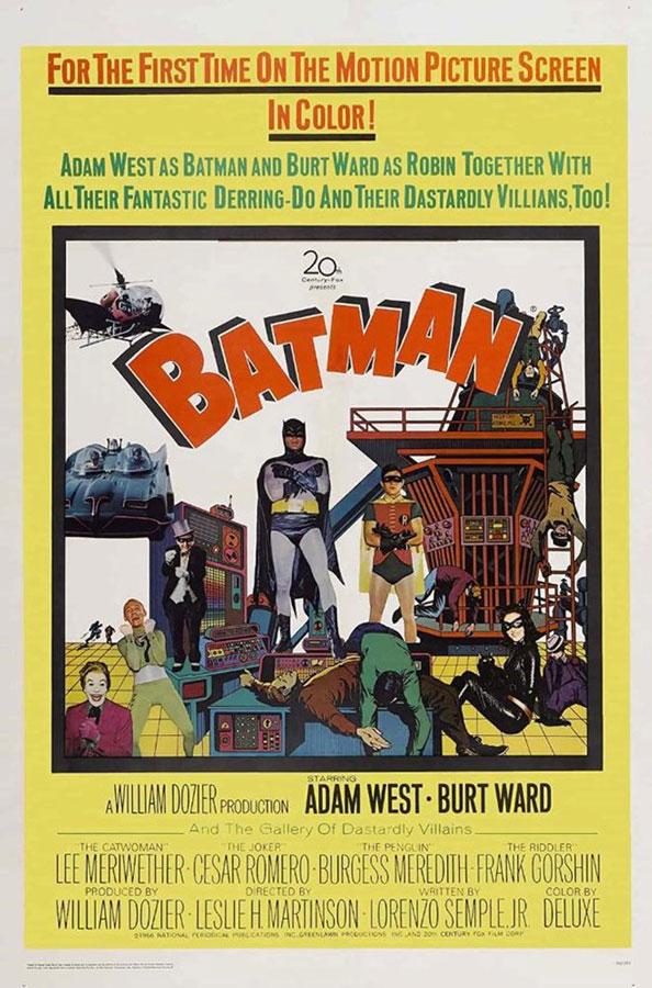 Mira el tráiler de Batman: The Movie de 1966