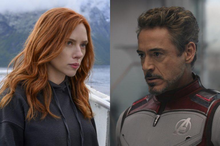 ¿Había un cameo de Tony Stark en Black Widow?