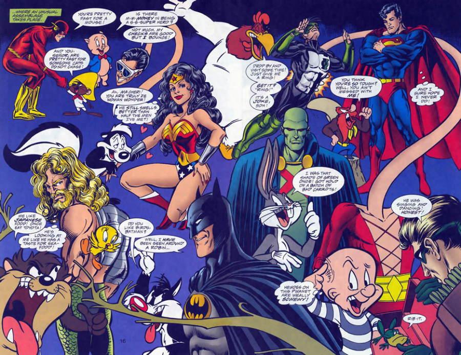 Bugs Bunny y LeBron James, los nuevos defensores del Universo DC