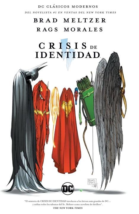 ¿Brad Meltzer cambiaría detalles de Crisis de Identidad?
