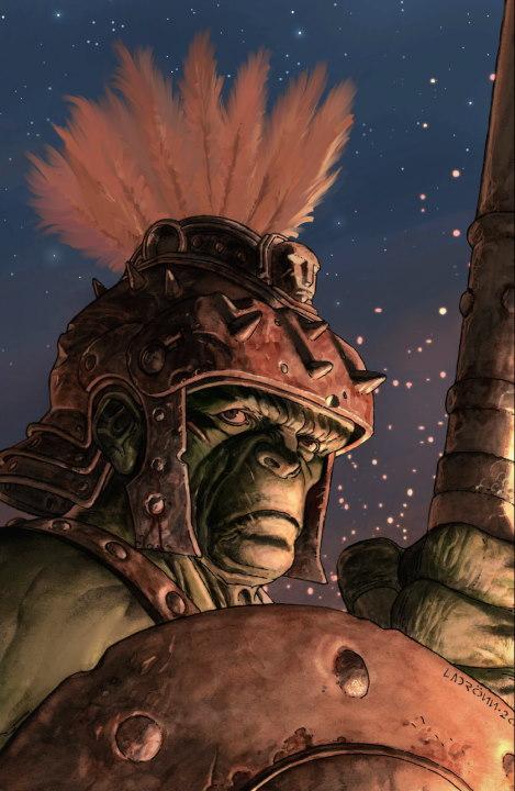 Un mexicano conquista con su arte el Planeta Hulk, José Ladrön