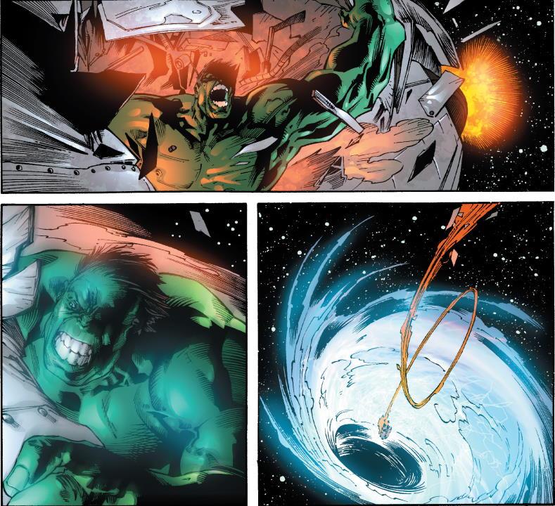 Momentos que hacen de Planeta Hulk una lectura indispensable
