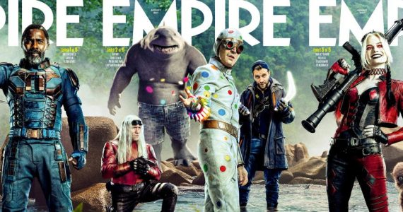 The Suicide Squad acapara más portadas en el mundo