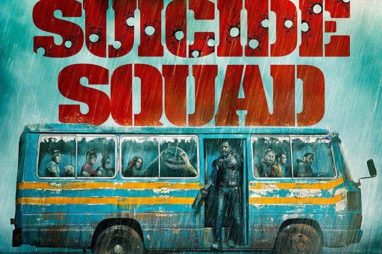 Nuevo póster de The Suicide Squad manda al equipo a la aventura en autobús