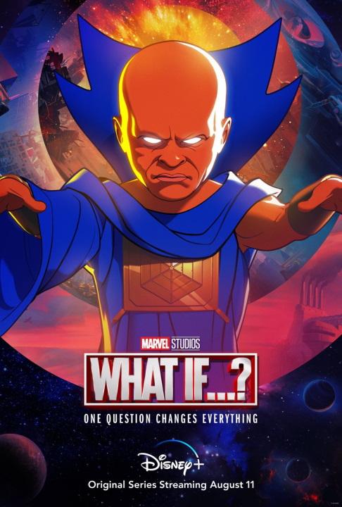 Uatu The Watcher se presenta en en nuevo póster de What If...?