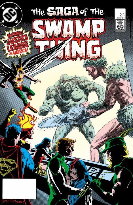 10 invitados especiales en la etapa de Alan Moore en Swamp Thing