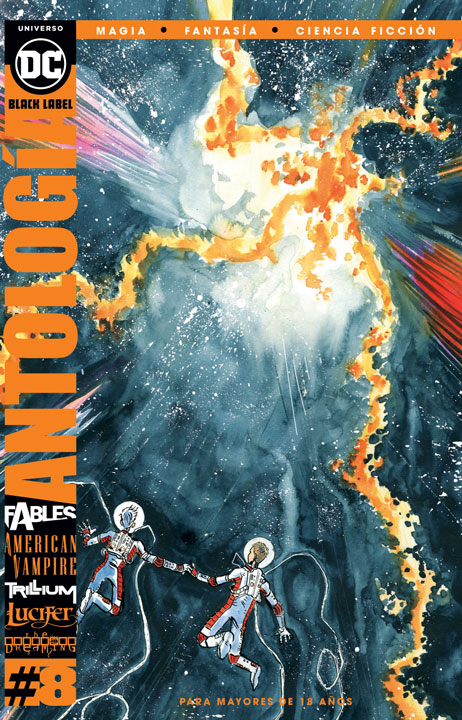DC Black Label: Antología: Magia, Fantasía y Ciencia Ficción #8