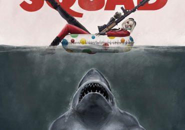 El genial póster mashup entre Tiburón y The Suicide Squad