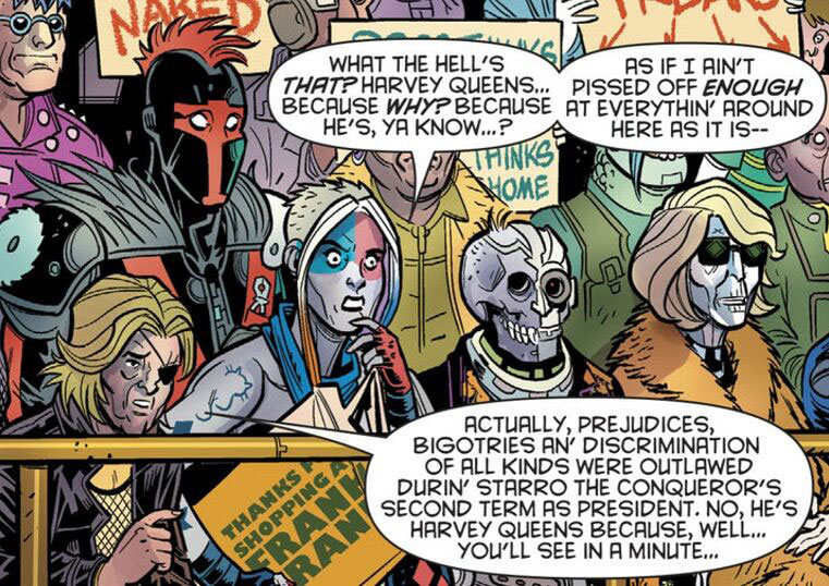 Harley Quinn: 3 encounters with Starro the Conqueror