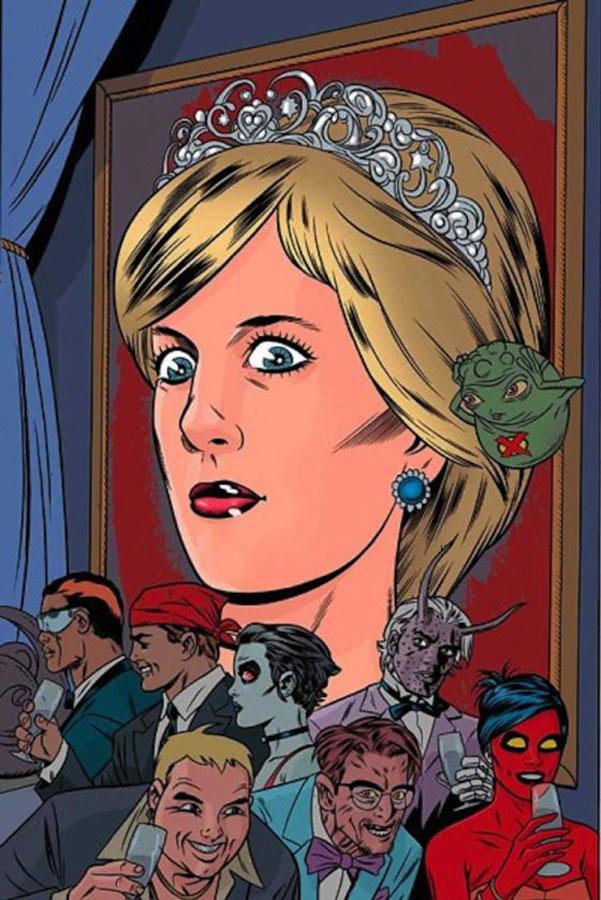 Lady Di, la princesa que estuvo a punto de ser una mutante X-Men