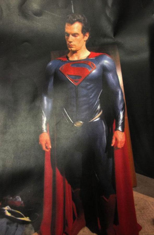 Superman, Wonder Woman y Batman: pruebas de vestuario inolvidables