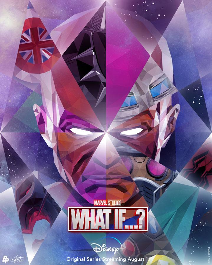 The Watcher protagoniza el nuevo póster de What If...?
