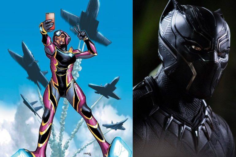 ¡Oficial! Ironheart aparecerá en Black Panther: Wakanda Forever