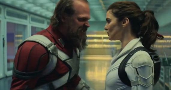 Alexei y Melina protagonizan un momento conmovedor en escena eliminada de Black Widow