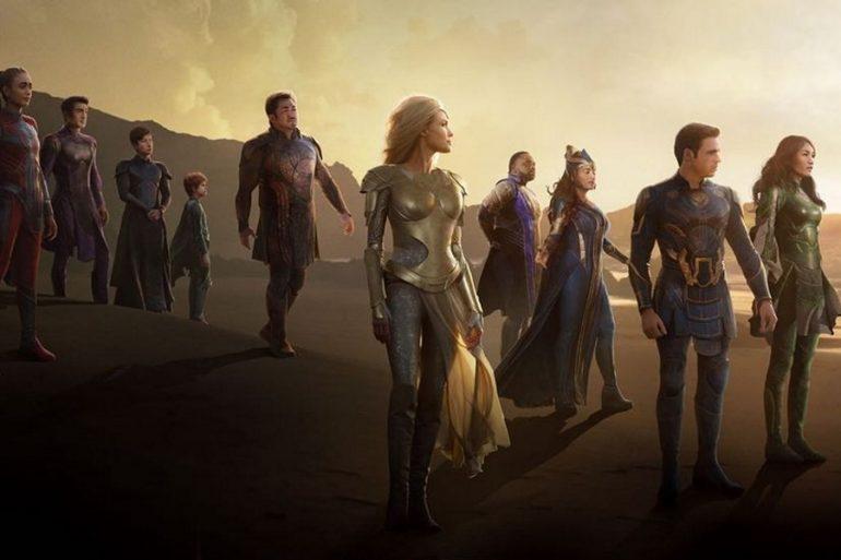 Poster oficial de Eternals de Marvel Studios