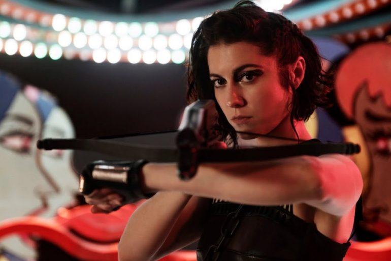 Huntress también tendría su película en solitario