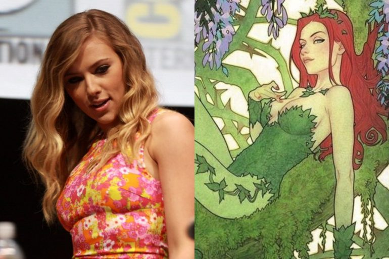 ¿Scarlett Johansson será la próxima Poison Ivy?