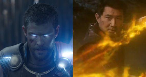 Thor le da la bienvenida a Shang-Chi al Universo Cinematográfico de Marvel
