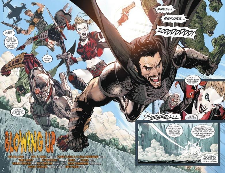 Los diez miembros más extraños del Suicide Squad