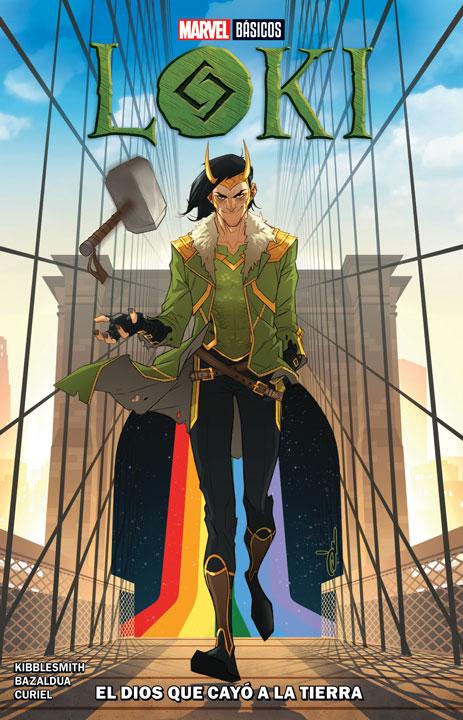Marvel Básicos – Loki: El Dios Que Cayó a la Tierra