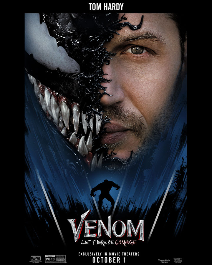 Venom: Let There Be Carnage libera los posters más impresionantes del cine