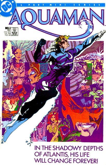 10 historias que definieron el rumbo de los 80 años de Aquaman