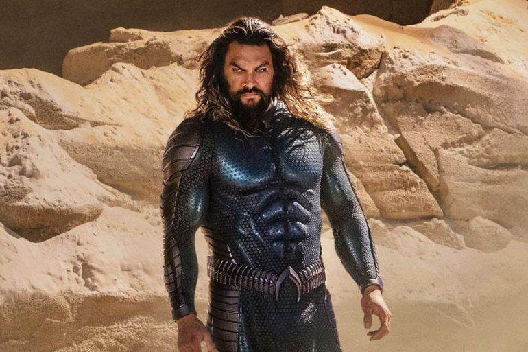 Primera imagen del traje nuevo de Aquaman para Aquaman and the Lost Kingdom