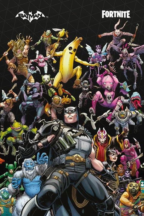 Coleccionador Batman/Fortnite: Punto Cero