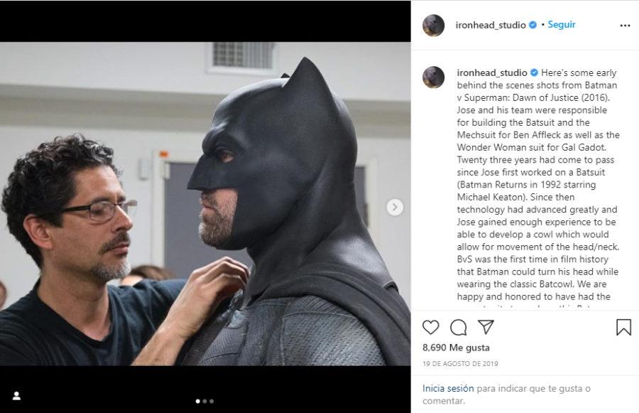 Discover the concept mockup of the Batman costume for Batman v Superman