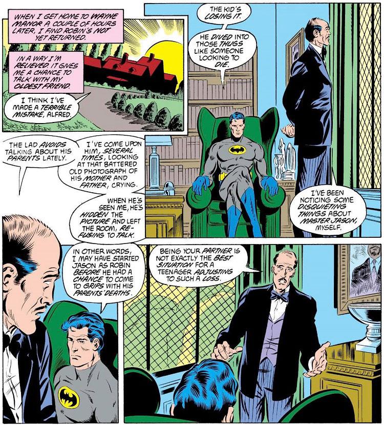 Batman y la paternidad, un análisis histórico