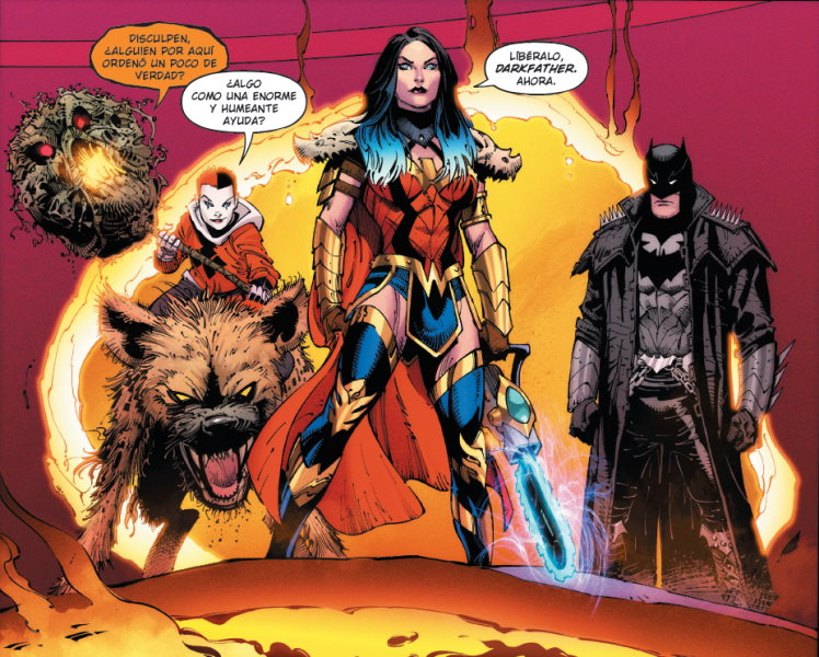 Dark Nights: Death Metal # 3 - Review and Criticism