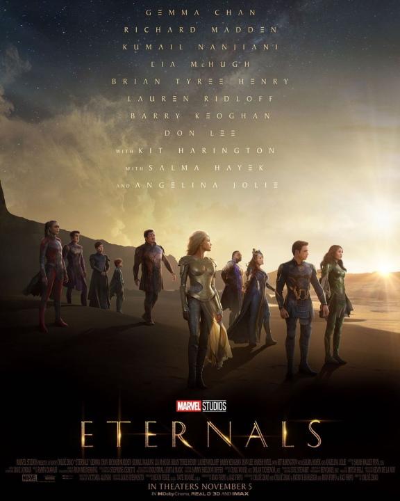 ¿Qué clasificación tendrá Eternals en el cine?