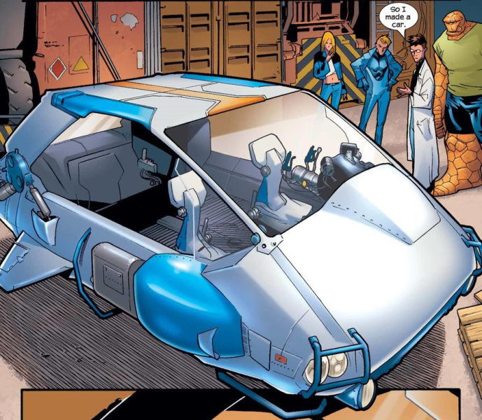 Fantastic Four: The 7 Best Versions of the Fantasti-Car