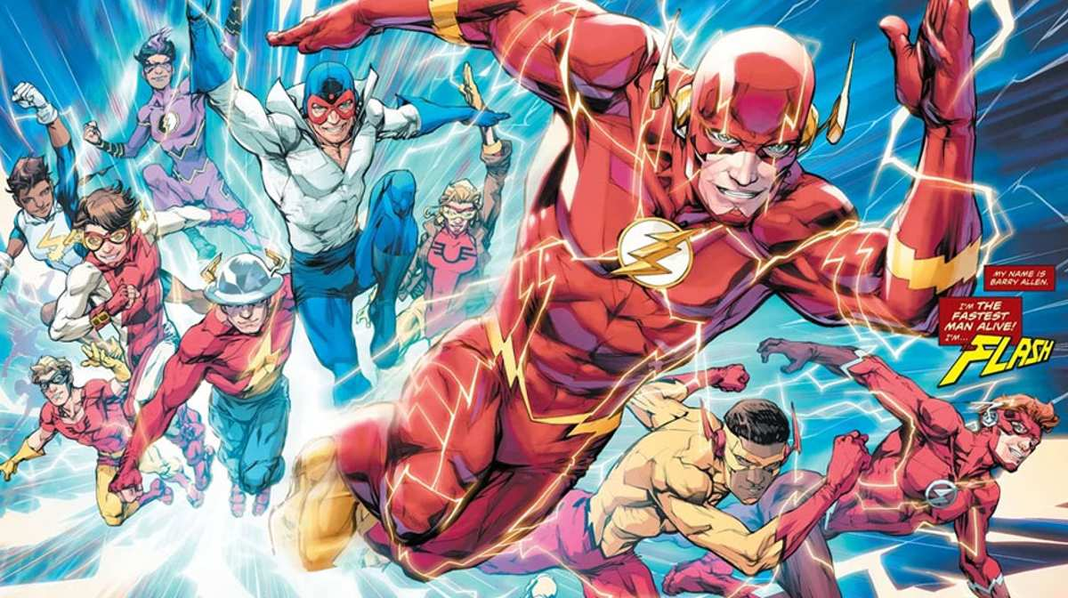 Flash in the DC multiverse