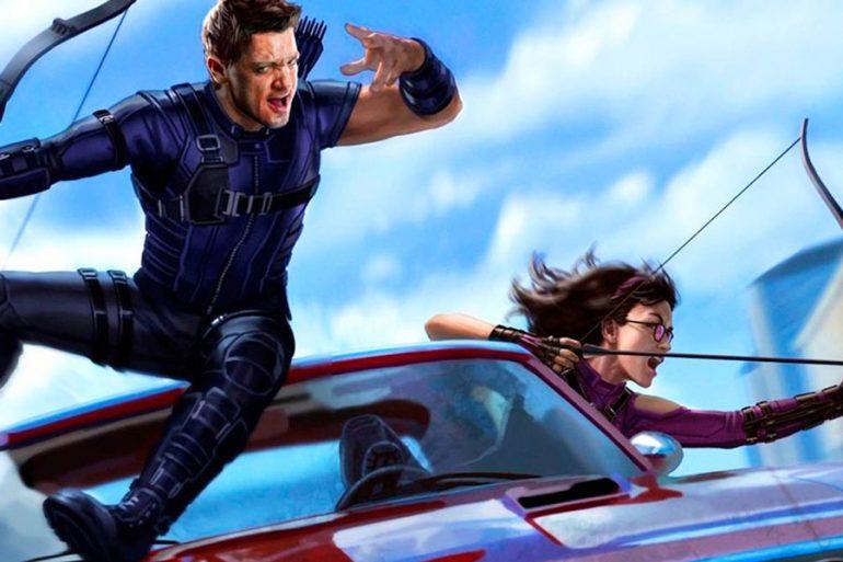 Hawkeye: primer póster de la serie de Marvel