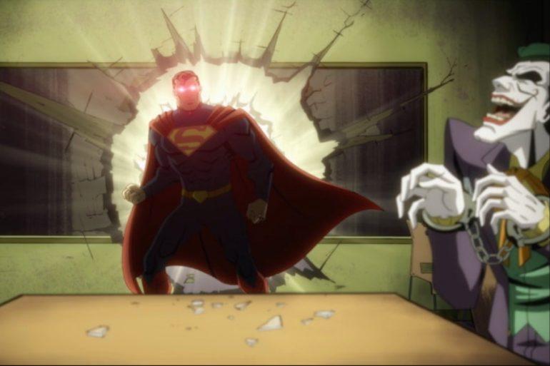 ¡Emociónate con el primer tráiler de la película animada Injustice!