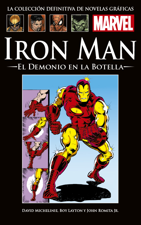 La Colección Definitiva de Novelas Gráficas de Marvel – Iron Man: El Demonio en la Botella